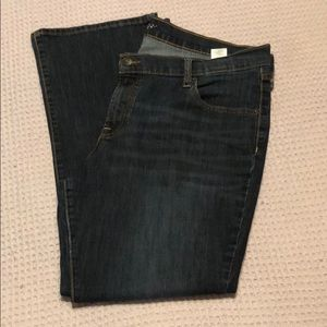 Old Navy Short Bootcut Jeans